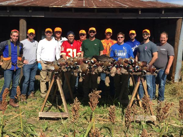 Bachelor Party Kansas Pheasant Hunt